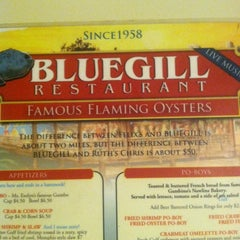 Photo taken at Bluegill Restaurant by CJ S. on 10/6/2013
