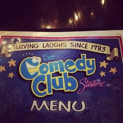 Photo taken at Comedy Club Stardome by Brett A. on 11/19/2012