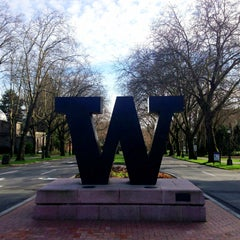 Photo taken at University of Washington by Kate K. on 4/12/2013