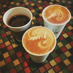 Photo taken at Voxx Coffee by Kate K. on 1/2/2013