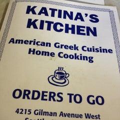Photo taken at Katina's Kitchen by Pavlo K. on 1/26/2013