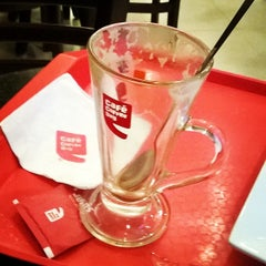 Photo taken at cafe coffee day by Nishant S. on 3/7/2014