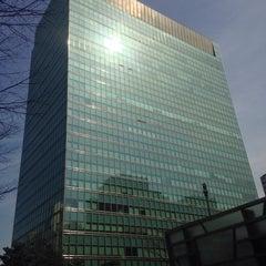 Photo taken at 포스코센터 (POSCO Center) by Jinsei진세 L. on 3/14/2015
