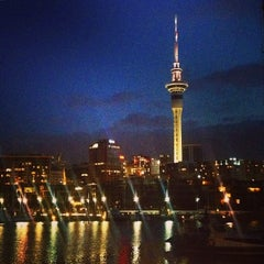 Photo taken at Wynyard Quarter by Leroy B. on 1/11/2015