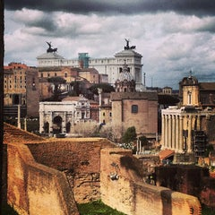 Photo taken at Foro Romano by Olivier L. on 3/11/2013