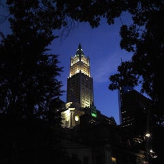 Photo taken at City Hall Park by Steven B. on 6/30/2013