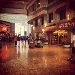 Photo taken at Seattle-Tacoma International Airport (SEA) by Caleb B. on 7/20/2013