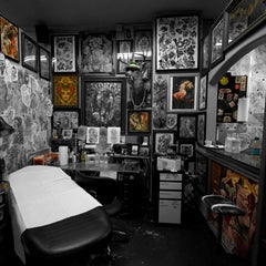 Photo taken at Guru Tattoo by Guru Tattoo on 9/21/2013