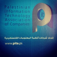 Photo taken at PITA (Palestinian IT Association of Companies) by Alan W. on 10/9/2012