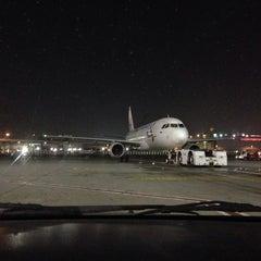 Photo taken at Terminal 1 المبنى by Aleksey K. on 3/1/2014