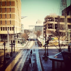 Photo taken at Nicollet Mall LRT Station by Kelly D. on 3/19/2013