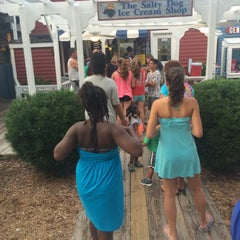 Photo taken at The Salty Dog Ice Cream Shop by Ron S. on 7/7/2014