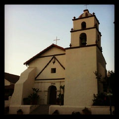 Photo taken at Mission San Buenaventura by Rob N. on 10/1/2012