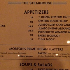 Photo taken at Morton's the Steakhouse by M F. on 8/1/2014