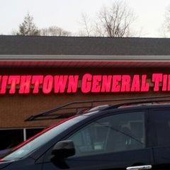 Photo taken at Smithtown General Tire by Ryan Adrian H. on 4/1/2014