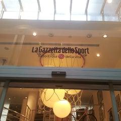 Photo taken at Gazzetta Store by Mario P. on 3/3/2013