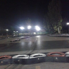Photo taken at Aqualand karting by Suat İ. on 11/20/2013