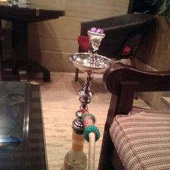 Photo taken at مقهى البنديره - Al Bindaira Café by Mohannad A. on 8/13/2013