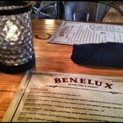 Photo taken at Cafe Benelux by Anthony J. on 10/23/2012