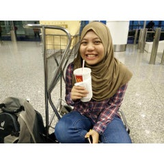 Photo taken at Gate A8 by Aliaa C. on 7/16/2015