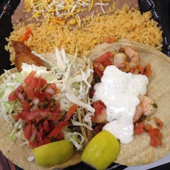 Photo taken at Cazadores Mexican Food by Cindy B. on 8/15/2014