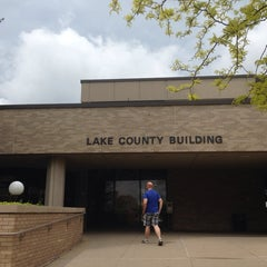 Photo taken at Lake County Courthouse & Administration Building by Jon A. on 6/2/2014