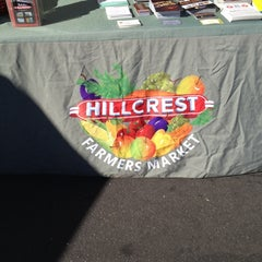 Photo taken at Hillcrest Farmers Market by Connor L. on 1/5/2014
