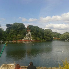 Photo taken at Peasholm Park by Mark A. on 7/11/2015