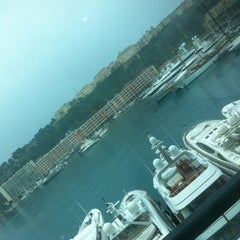 Photo taken at Port Palace Hotel Monte Carlo by Den A. on 3/30/2013