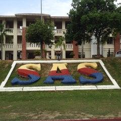 Photo taken at Sekolah Sultan Alam Shah (SAS) by Amir S. on 3/15/2015