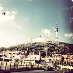 Photo taken at Namsan Tunnel 3 by kangdong on 9/19/2012