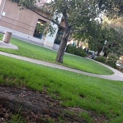Photo taken at Redwood City Main Library by Thee D. on 10/25/2014