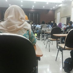 Photo taken at MM UGM Jakarta by Franz D. on 6/15/2014