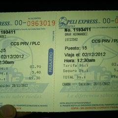 Photo taken at Terminal Peli Express-Flamingo by Omar C. on 11/28/2012