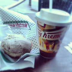 Photo taken at Krispy Kreme by Brenda O. on 1/18/2013