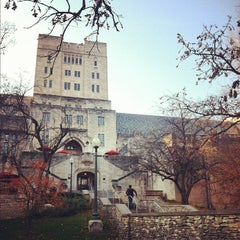 Photo taken at Indiana Memorial Union by Katie B. on 10/25/2012