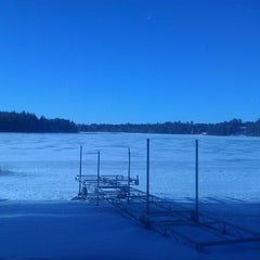 Photo taken at Leader Lake by Joey D. on 12/25/2012