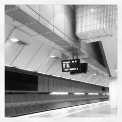 Photo taken at Platforms 3 & 4 by Steve on 2/18/2012