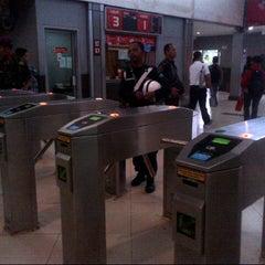 Photo taken at Stasiun Sudirman by Ichwan H. on 6/11/2013