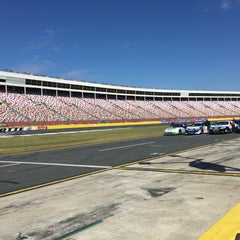 Photo taken at Charlotte Motor Speedway by Amanda G. on 3/5/2016