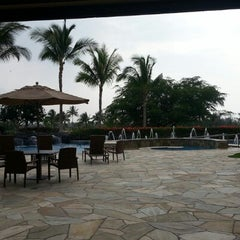 Photo taken at Hilton Grand Vacations Kohala Suites at Waikoloa Beach Resort by Kam on 10/25/2012