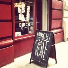 Photo taken at Birch Coffee by Molly Brynn on 11/6/2012