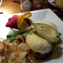 Photo taken at Mahogany Grill by Tricia on 12/25/2014