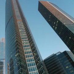 Снимок сделан в Башня «Федерация» / Federation Tower пользователем denisemenov 11/23/2012