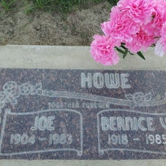 Photo taken at Clovis Cemetary by TROY CLIFFORD H. on 5/13/2013
