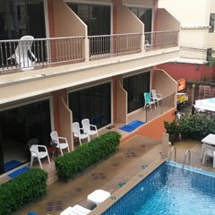 Photo taken at Seven Seas Hotel Phuket by Ksenia P. on 6/5/2014