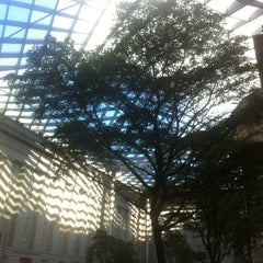 Photo taken at Kogod Courtyard by Daniel K. on 12/22/2012