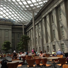 Photo taken at Kogod Courtyard by Daniel K. on 7/20/2013