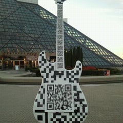 Photo taken at The Rock and Roll Hall of Fame and Museum by Hilary F. on 10/11/2012