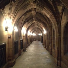 Photo taken at The John Rylands Library by Anna J. on 11/17/2013